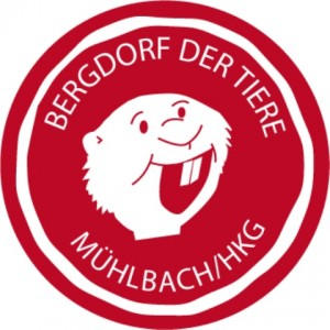 Bergdorf der Tiere Logo von Manfred Murmeltier