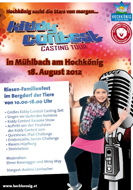 Kiddy Contest 2012 in Mhlbach am Hochknig